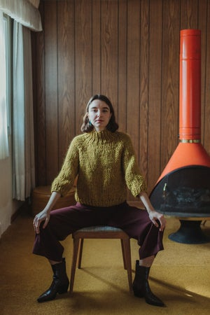Image of Strathcona Sweater (shown in Ochre)