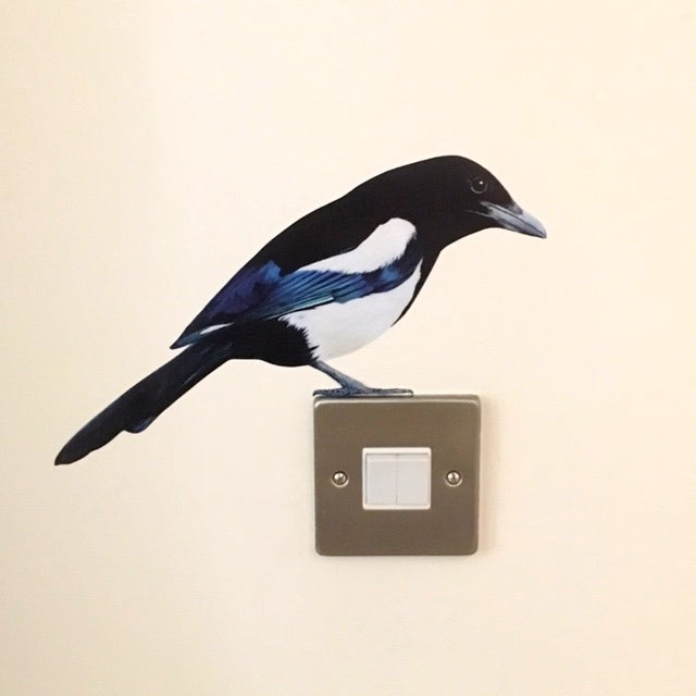 Image of Mordor Magpie ~ Wall sticker