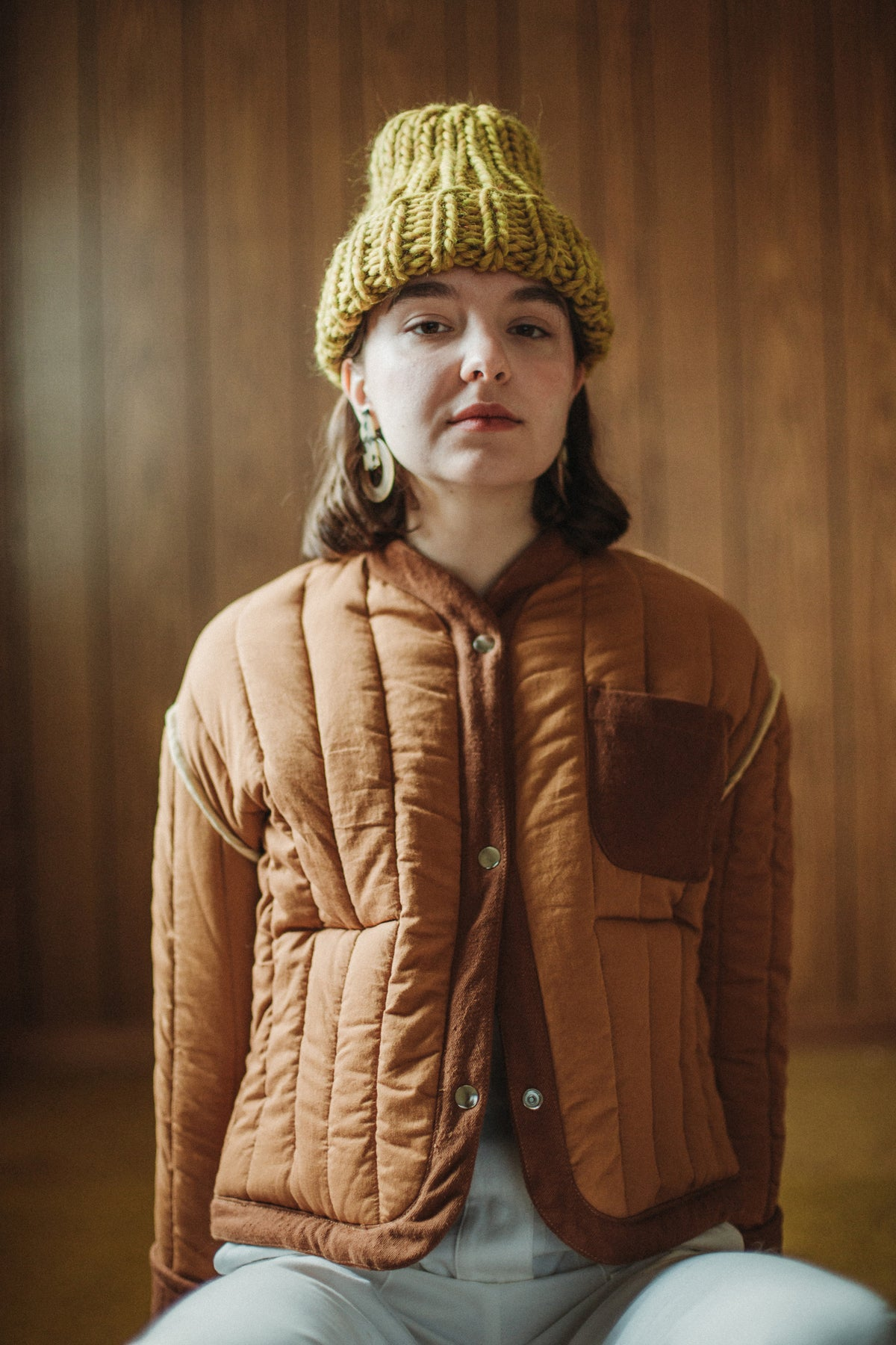 Image of Kenora Toque ( in NEW Ochre)