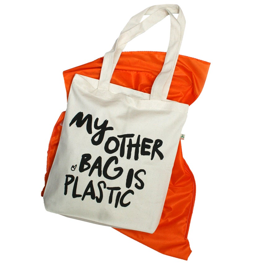 Image of My other bag is plastic