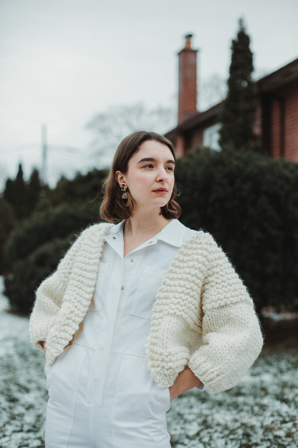 Image of Carlisle Cardigan (shown in natural)
