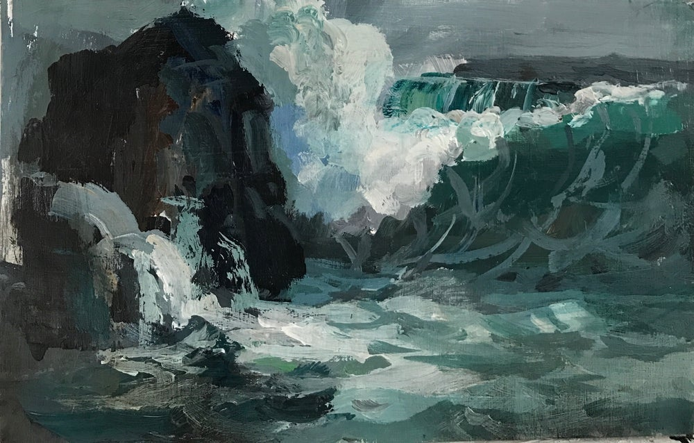 Image of Wave study ( after Charles Vickery)