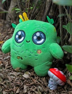 Image of MOSSY - The Moss Spirit - Plushie Pillow by MUMBOT