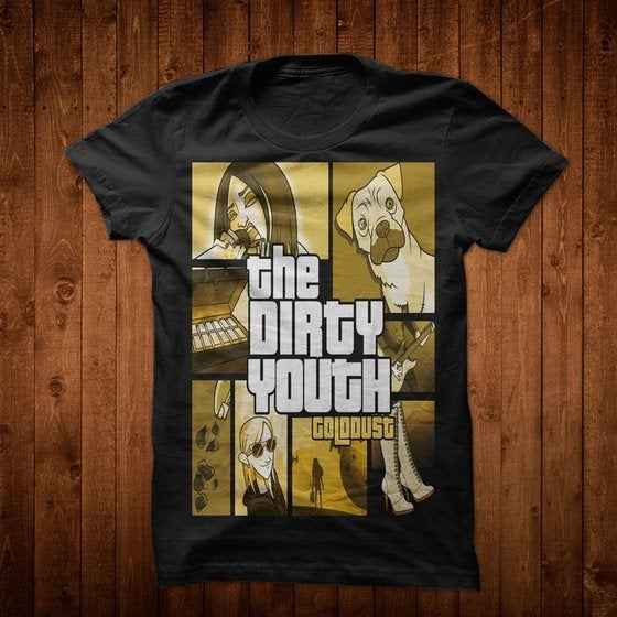 Image of Gold Dust T-Shirt GTA vs TDY