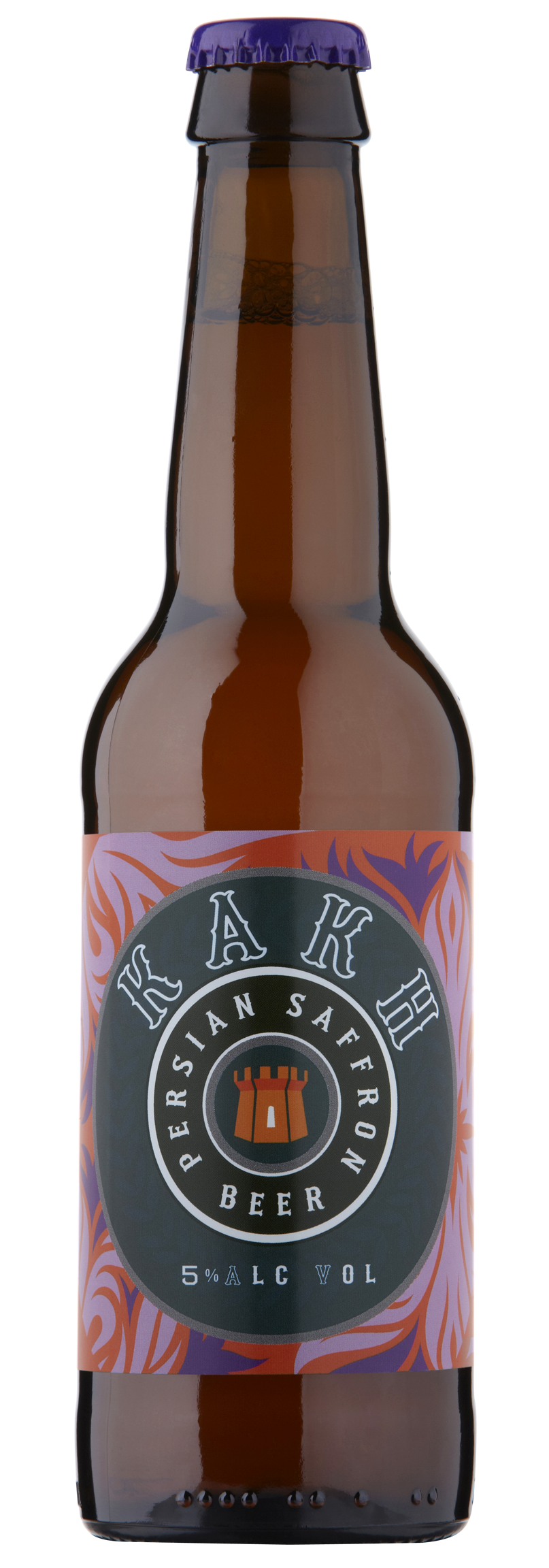 Image of Kakh Saffron Beer 12 x 330ml
