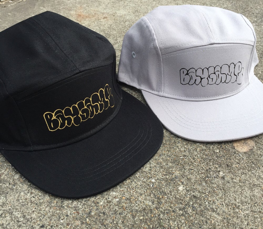 Image of Baygame Throwie 5 panel