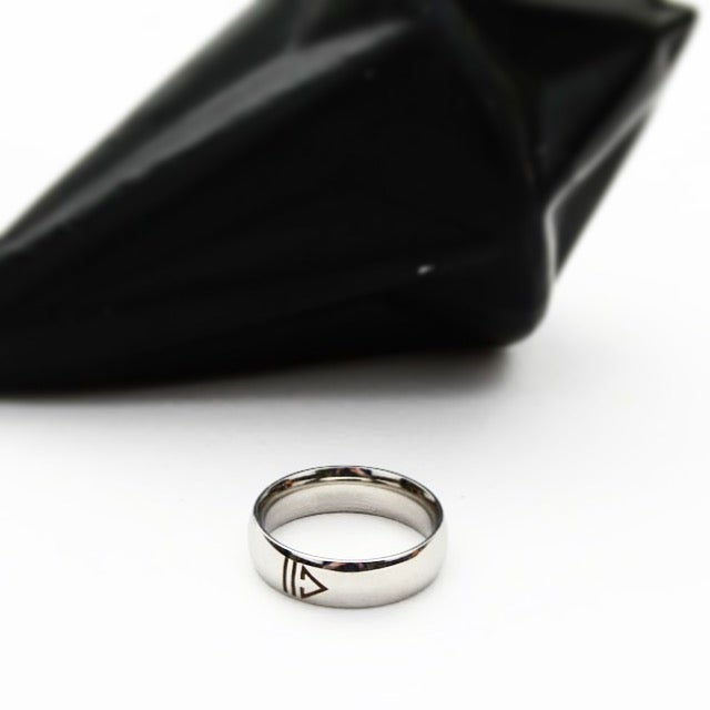 Image of 2D Stainless Steel Ring