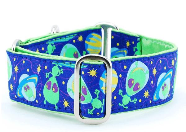 "Image of IncrediBullStella Custom Wide 1.5"" Collar - Aliens"