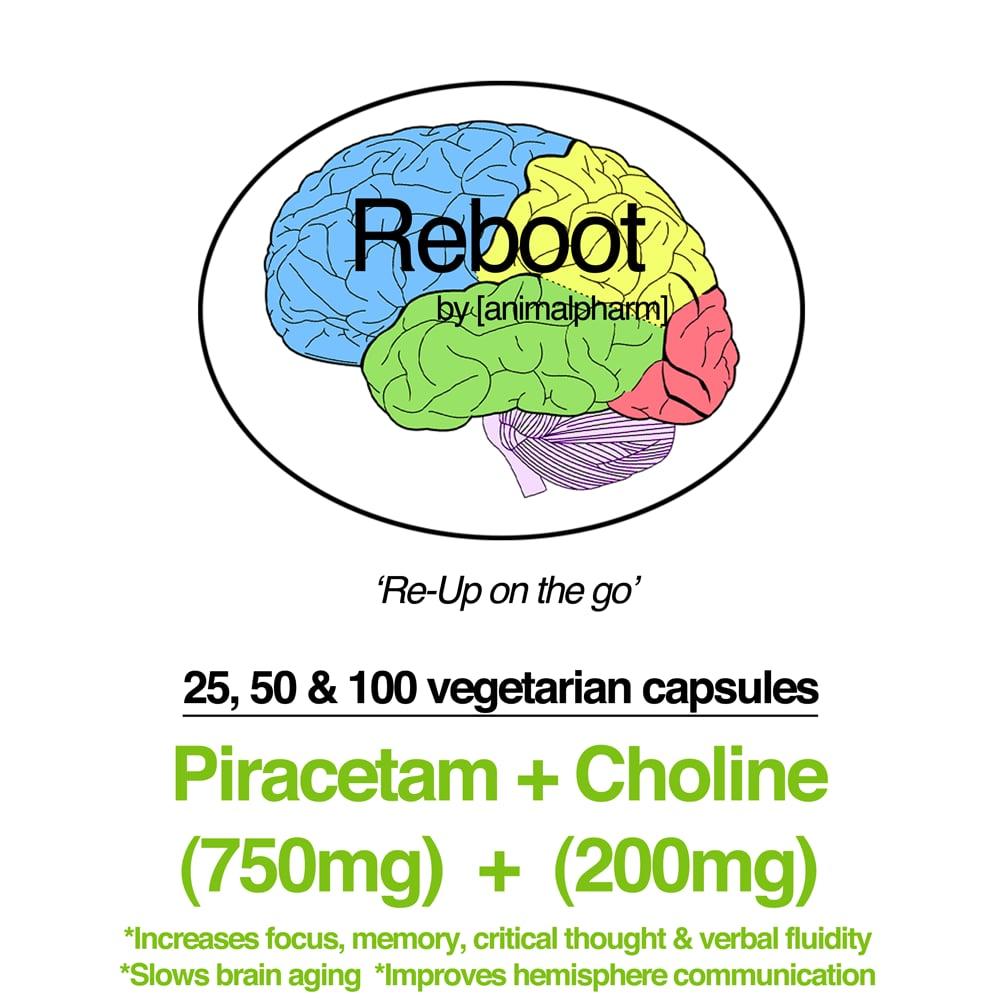 Image of PIRACETAM(950MG + 750MG/200MG CHOLINE OPTIONS) YOU CHOOSE