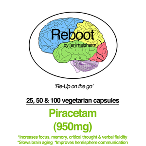 Image of PIRACETAM(950MG + 750MG/200MG CHOLINE OPTIONS) YOU CHOOSE