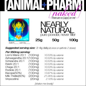 Image of NAKED BLENDS--[NEARLY NATURAL]