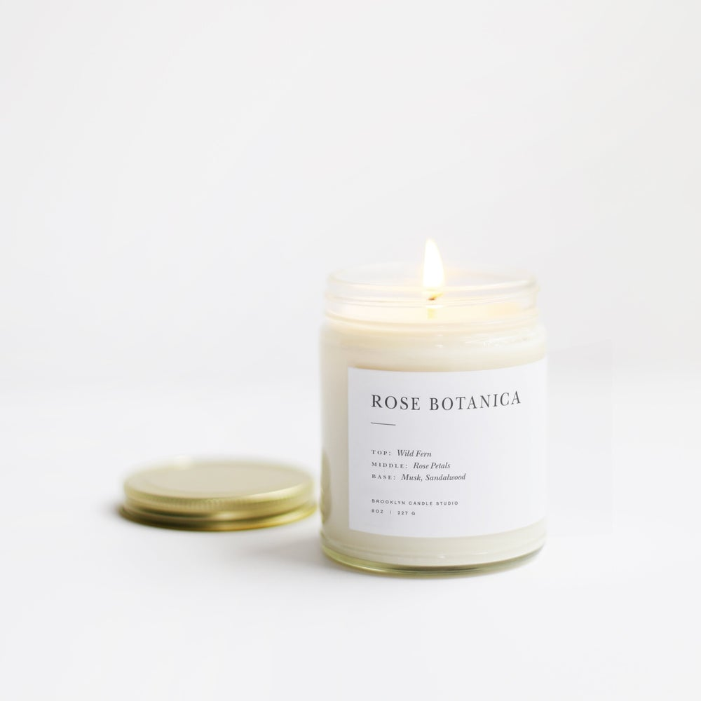 Image of Rose Botanica Minimalist Candle