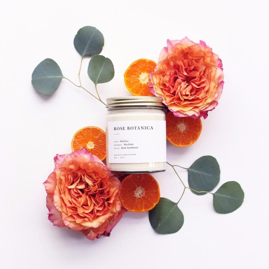 Image of Rose Botanica Minimalist Candle