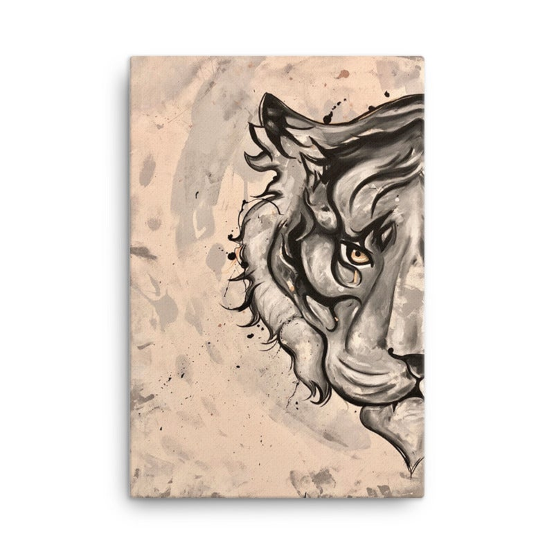 Image of Tiger Canvas Print
