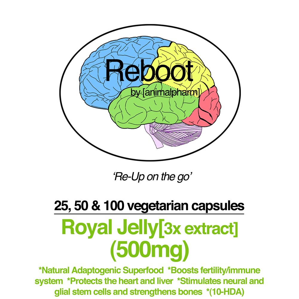 Image of ROYAL JELLY[3:1 EXTRACT] CAPSULES (500MG)