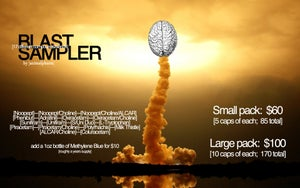 Image of RE:BOOT NOOTROPIC BLASTSAMPLER (18 DIFFERENT COMPOUNDS/BLENDS!)