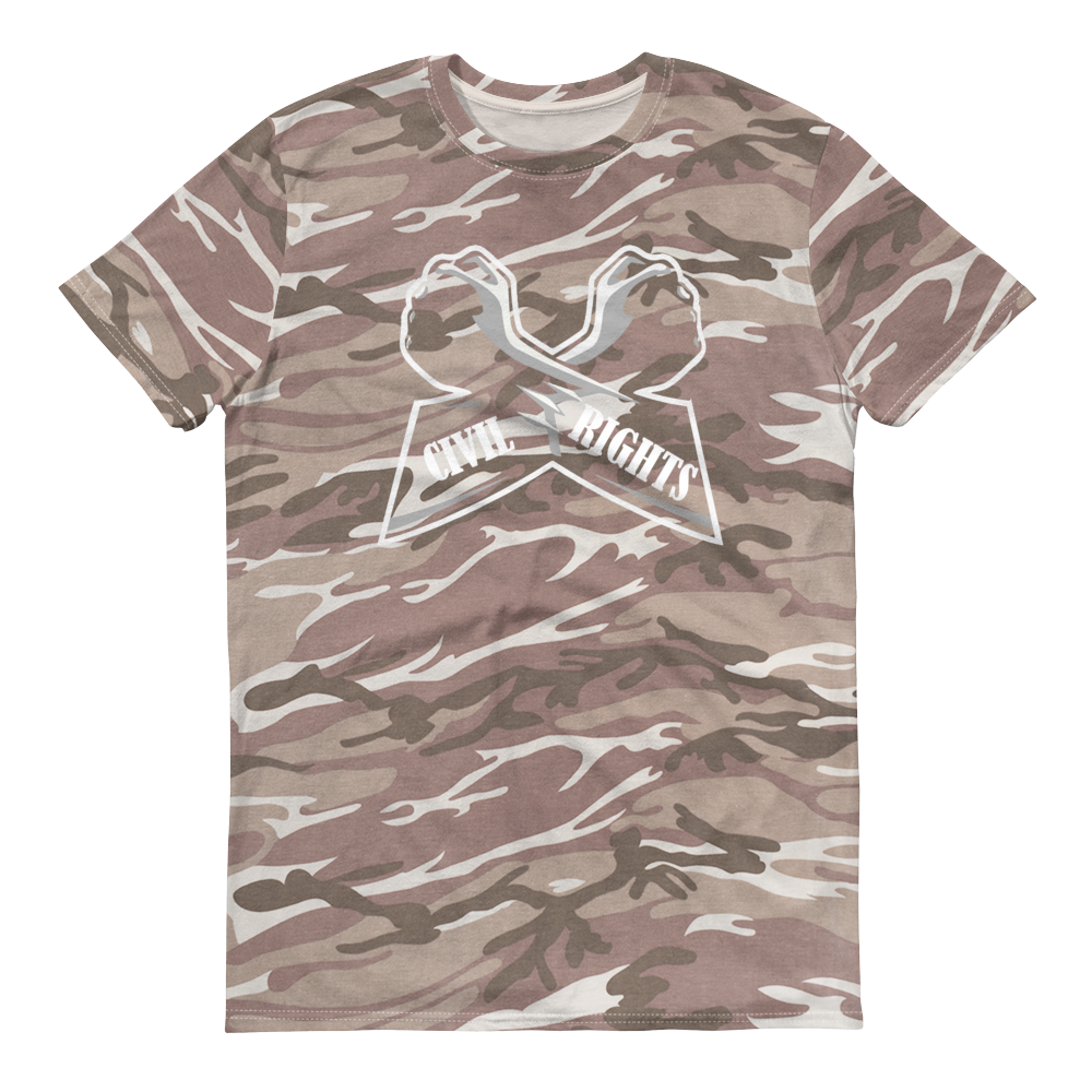 Image of Men's camoflauge tee shirt