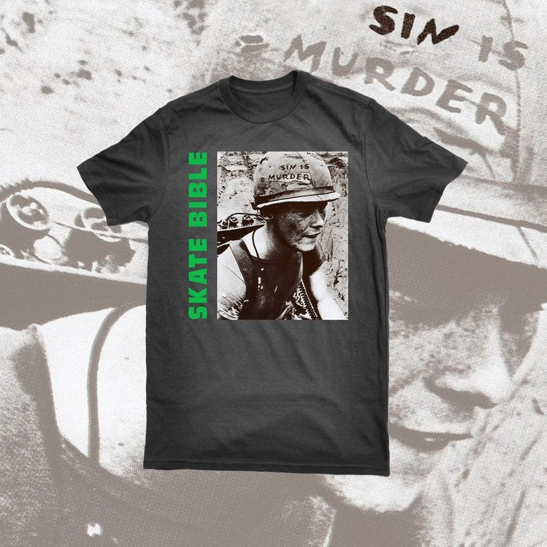 """Image of Limited Edition """"Sin Is Murder"""" T-shirt."""