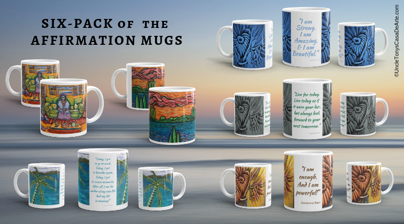 Image of Six Pack Set of 11oz Mugs