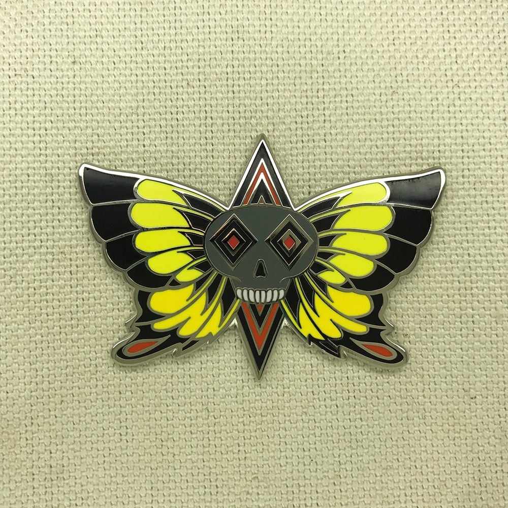 "Image of Series 3 ""Yellow Butterfly"" Pin"