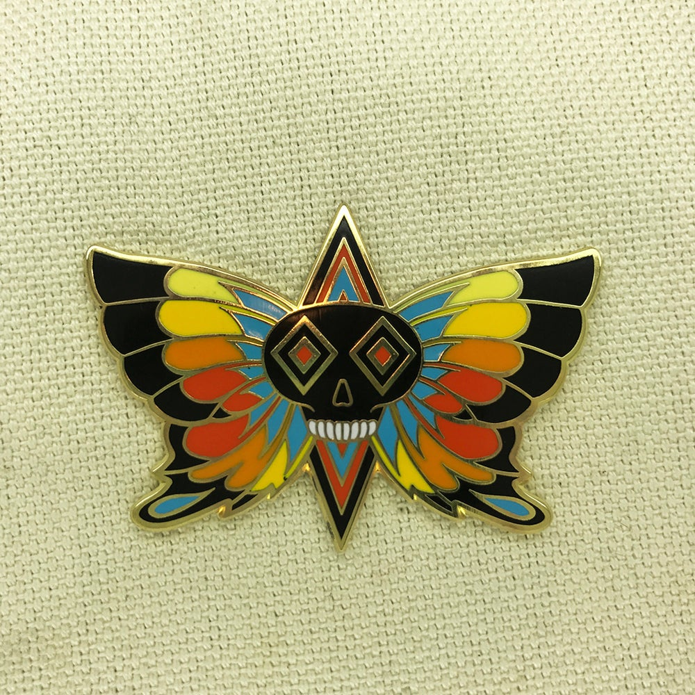 "Image of Series 3 ""Orange Butterfly"" Pin"