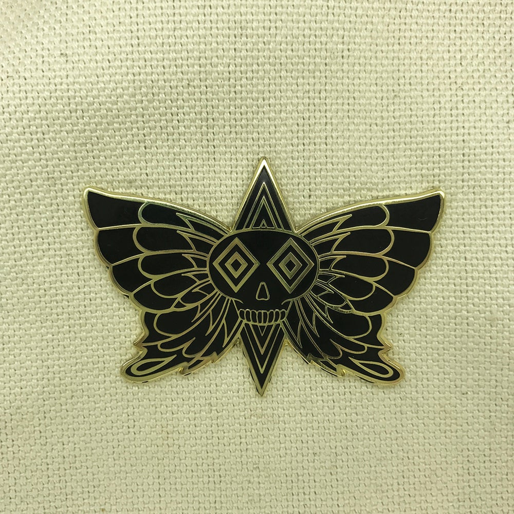 "Image of Series 3 ""Black Butterfly"" Pin"