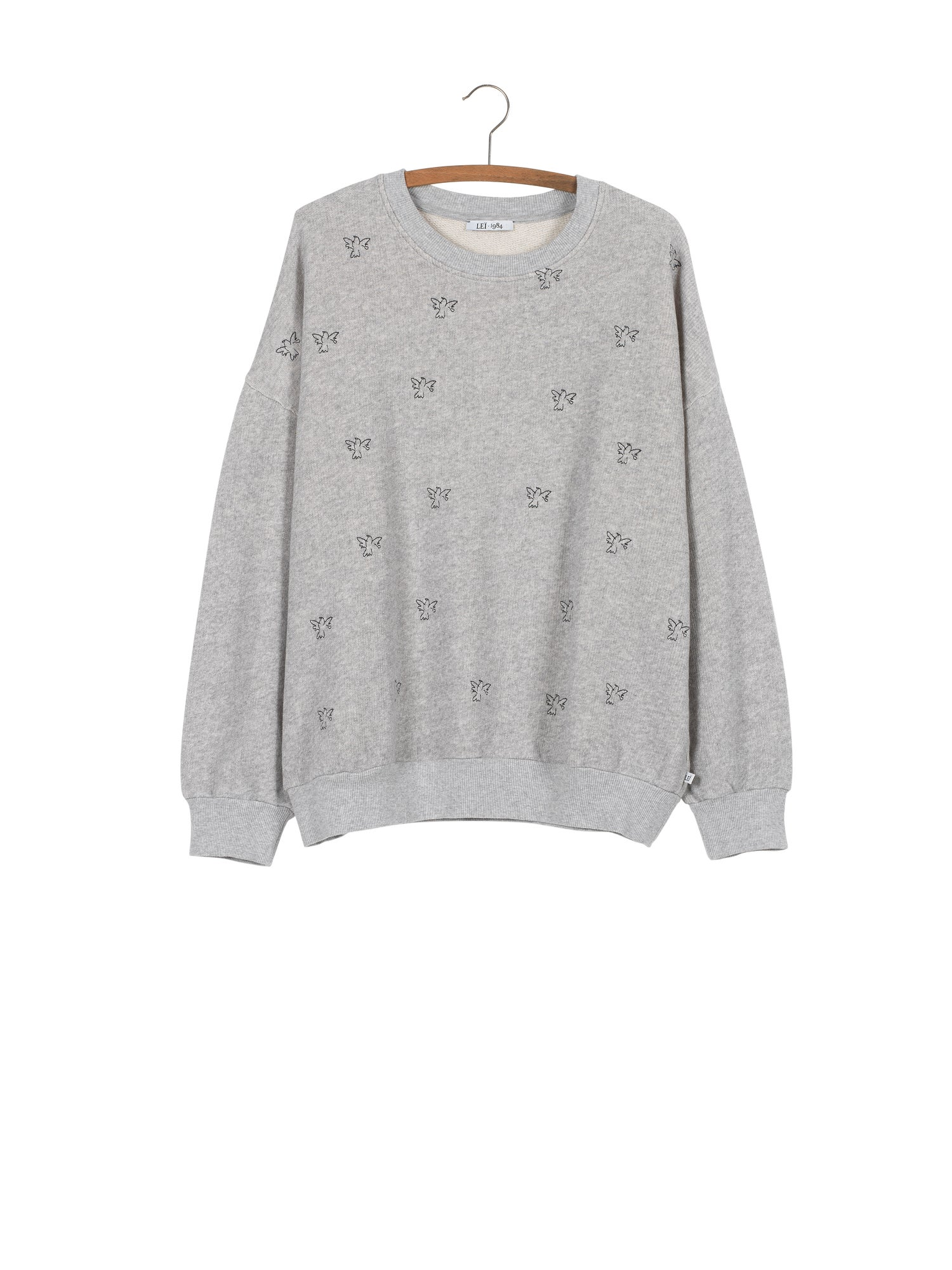 Image of Sweat AUGUSTIN colombes brodées 95€ - 50%