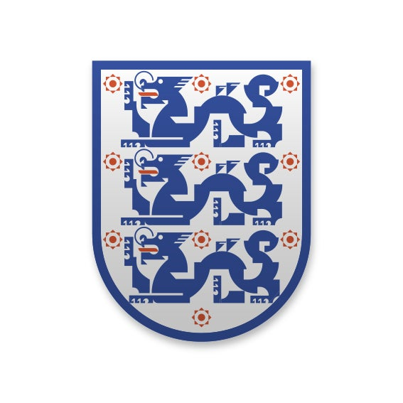 Hong Kong England Enamel pin badge