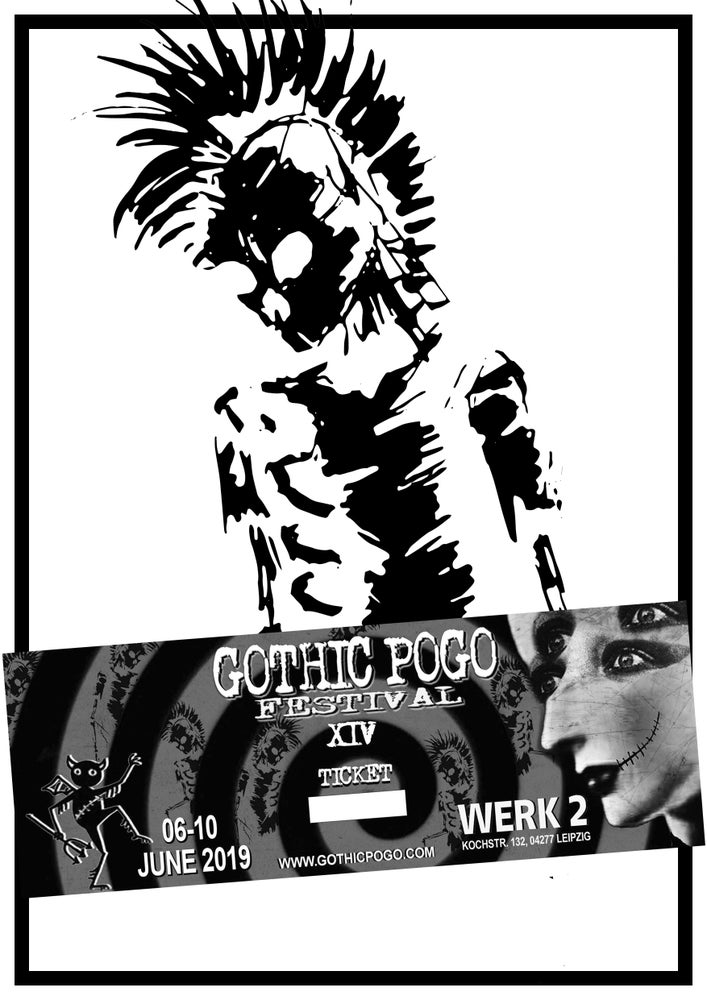 """Image of Ticket """"Gothic Pogo Festival XIV"""" - EARLY BIRD / LIMITED EDITION"""