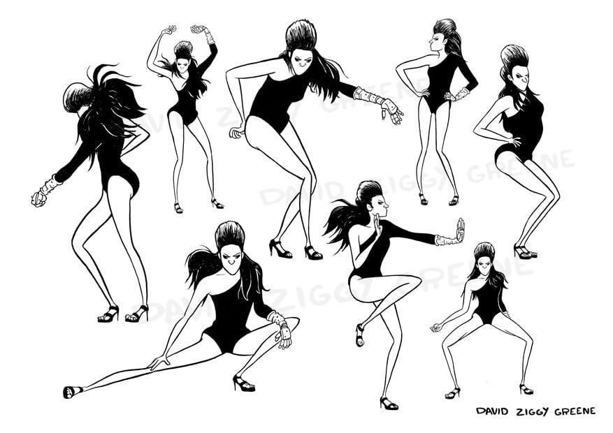 Beyonce Single Ladies print