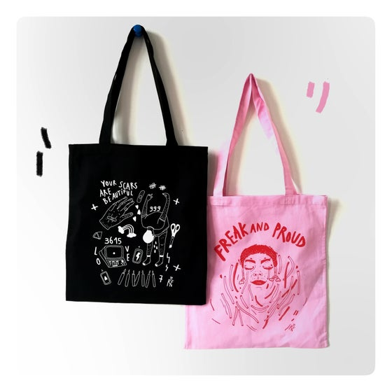 Image of Tote bags !!!!!
