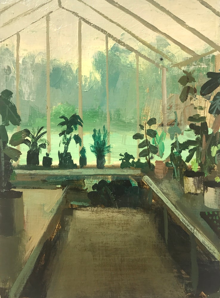 Image of Greenhouse Sketch
