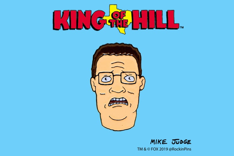 Image of Hank Hill Bwah