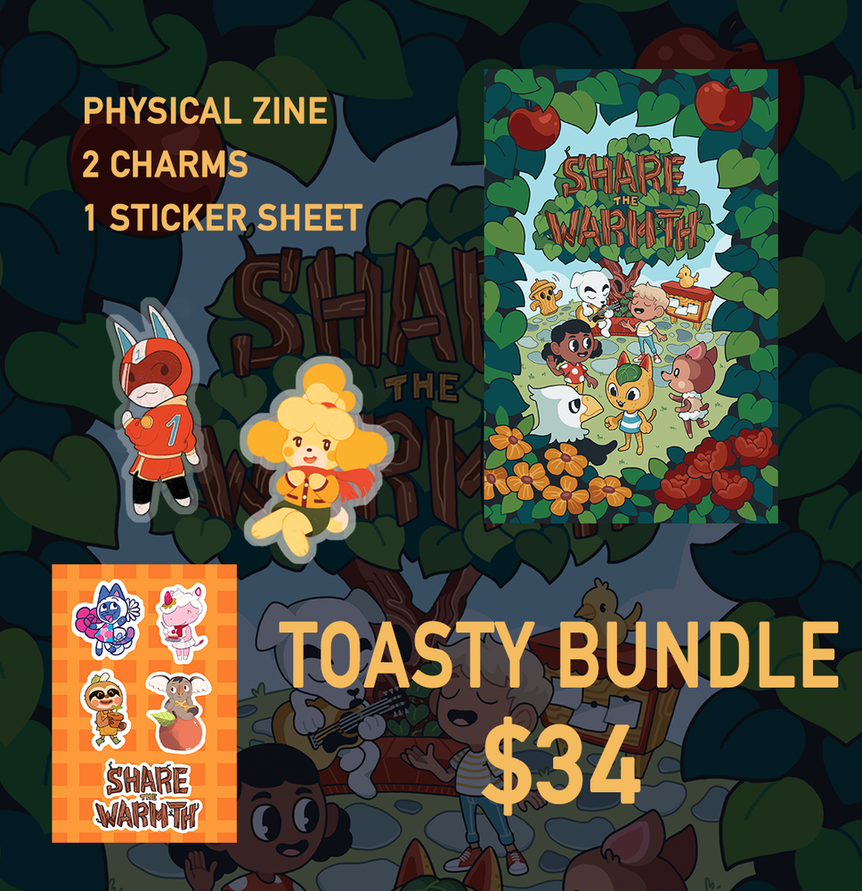 Image of Share the Warmth Zine-Toasty Bundle