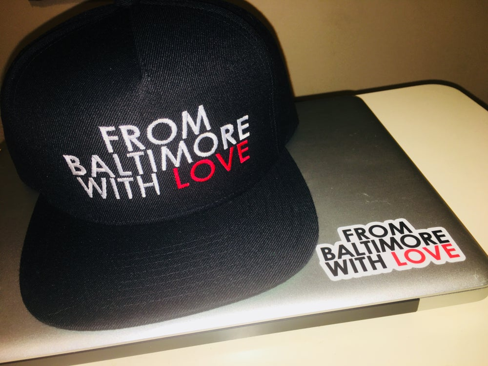 Image of From Baltimore With Love Snapback [RED]