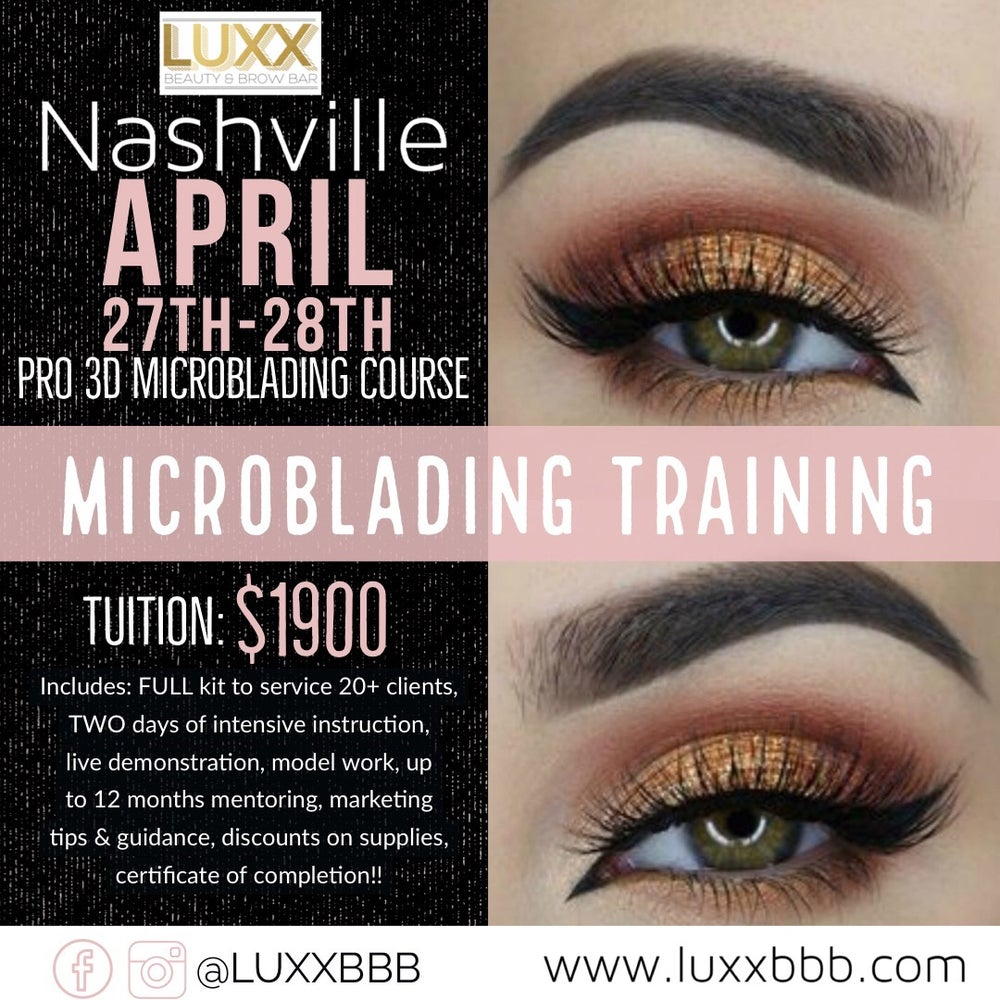 Image of Nashville Pro Microblading - April 27-28