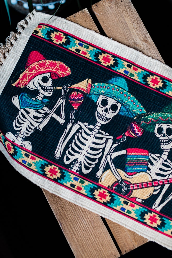Image of Mexican Skulls Placemat