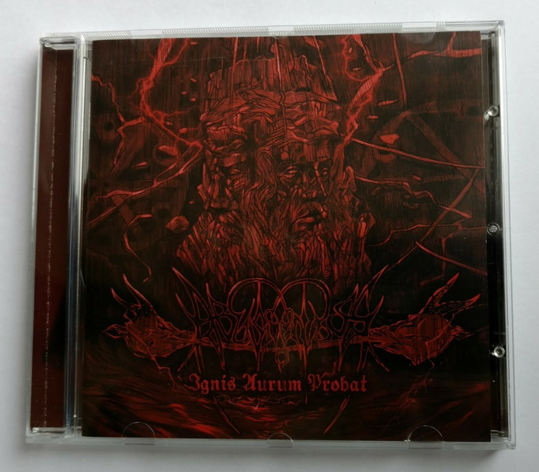 "Image of ABUSIVENESS ""Ignis Aurum Probat"" jewel case CD"