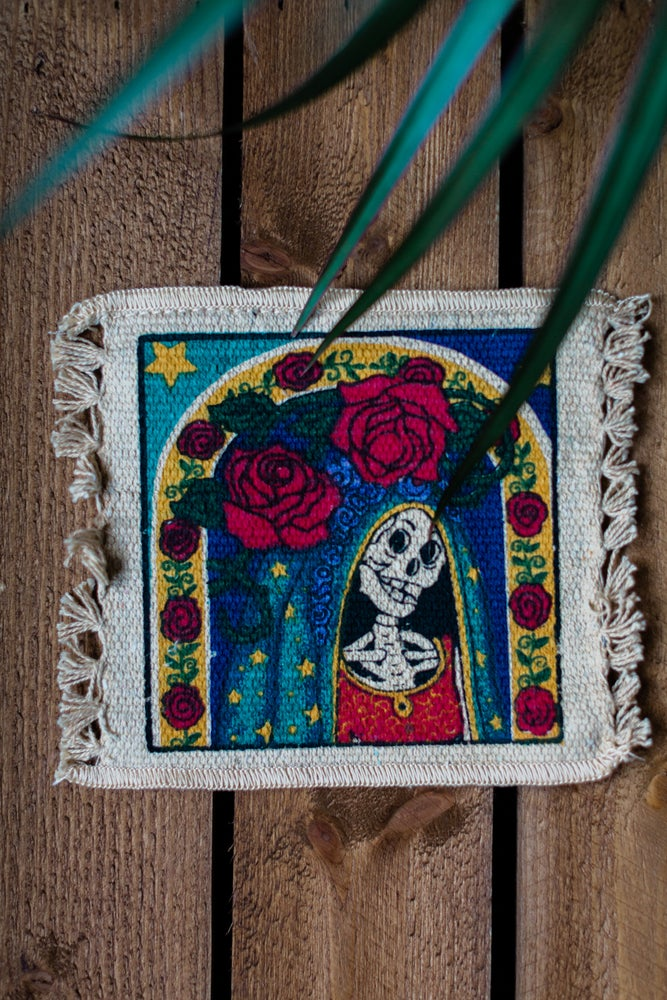 Image of 'Mother Rose' Coaster x 2 Pack