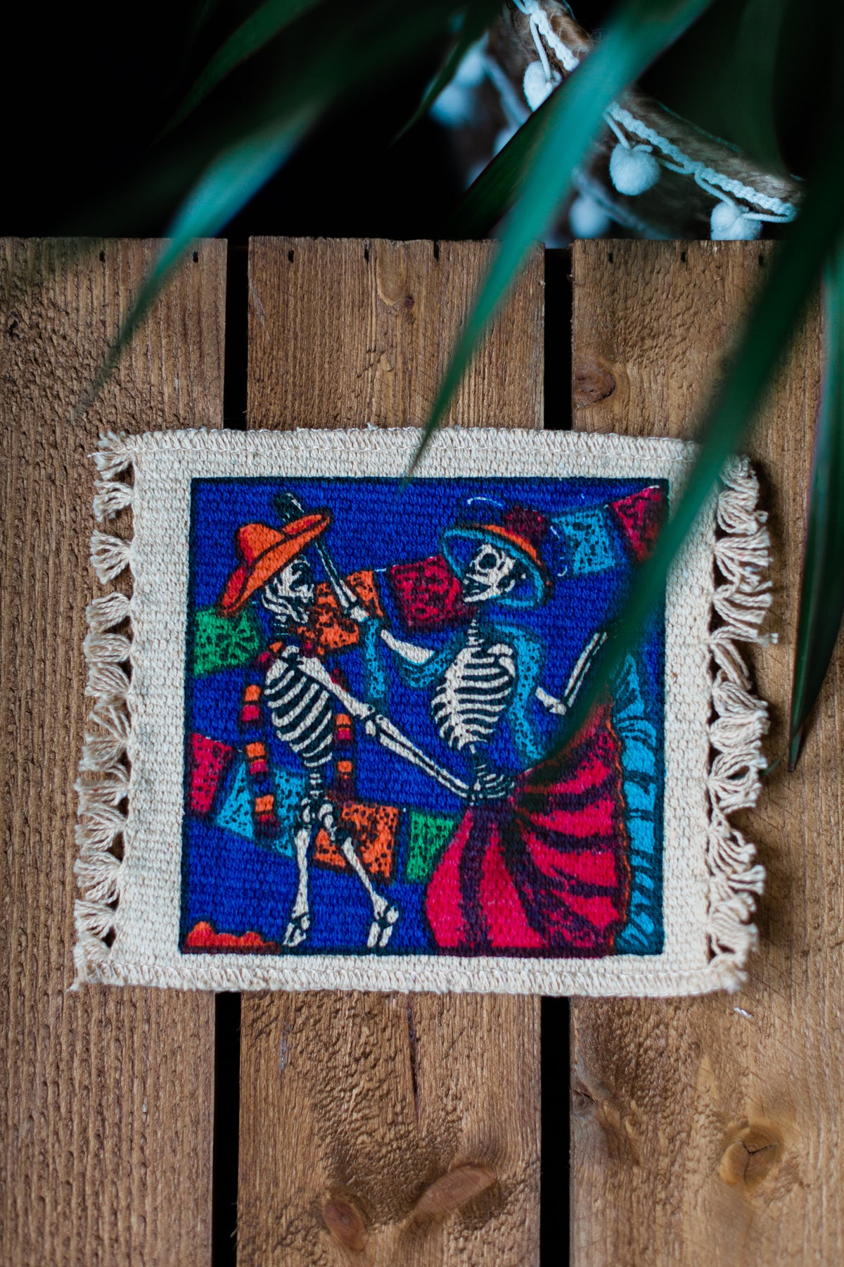 Image of 'Dancing Skeletons' Coaster x 2 Pack