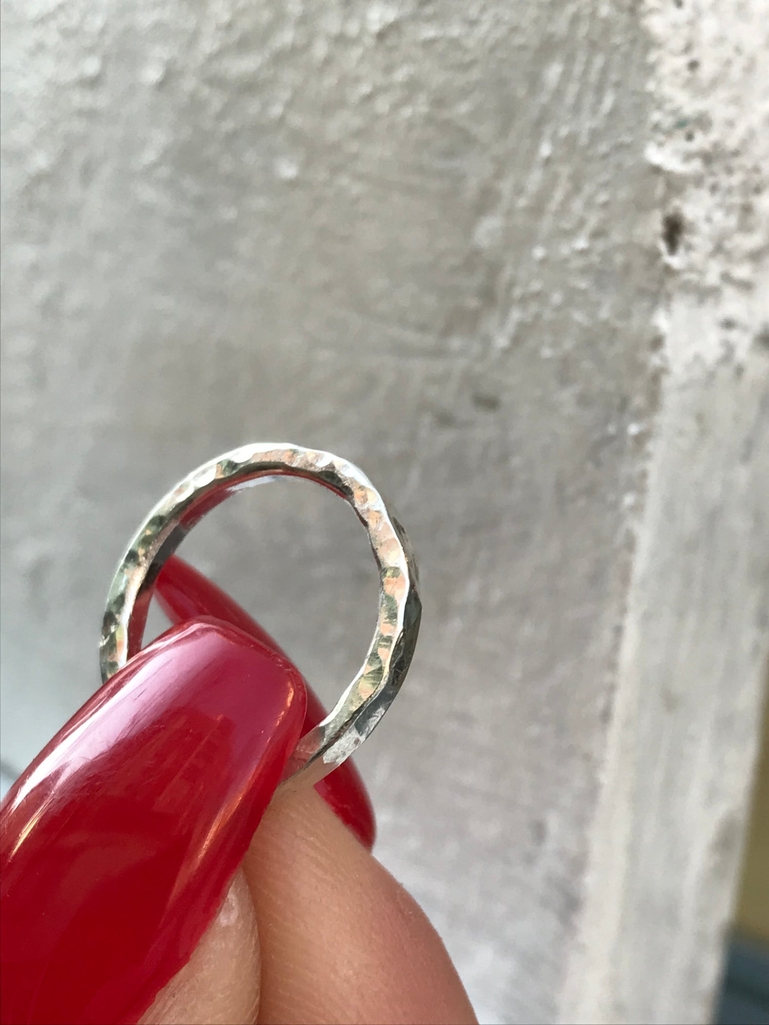 Image of Eternity ring (Textured)