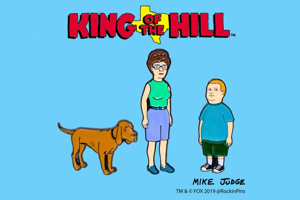 Image of King of the Hill - Hill Family Set