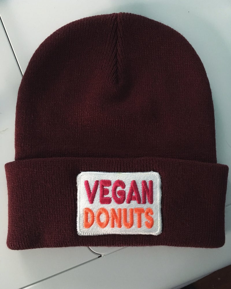 Image of Vegan Donuts patch/vegan donuts patch beabie