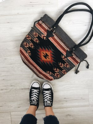 Image of Valerie Handwoven Wool Bag
