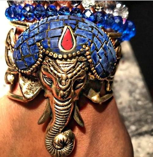 Image of Elephant brass cuff