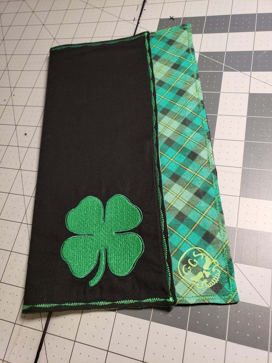 Image of Plaid Shamrock