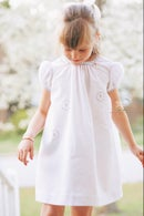 Image 2 of Ellie Hand Smocked Honeycomb Dress