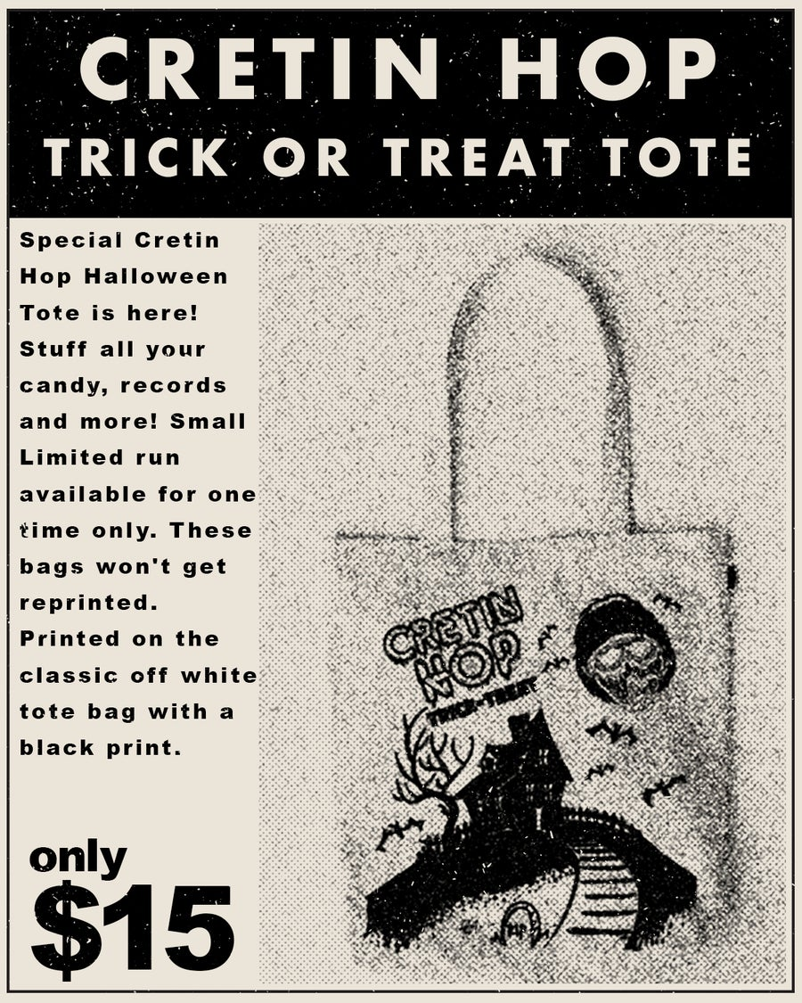 Image of Trick or Treat Halloween Tote