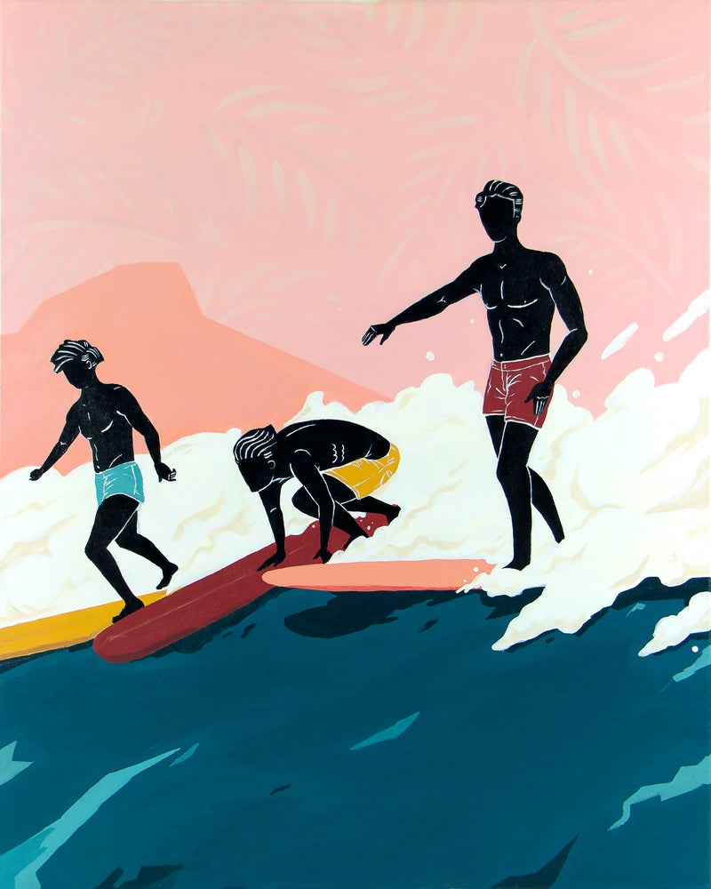 "Image of ""Waikiki Boys"" / Art Print"