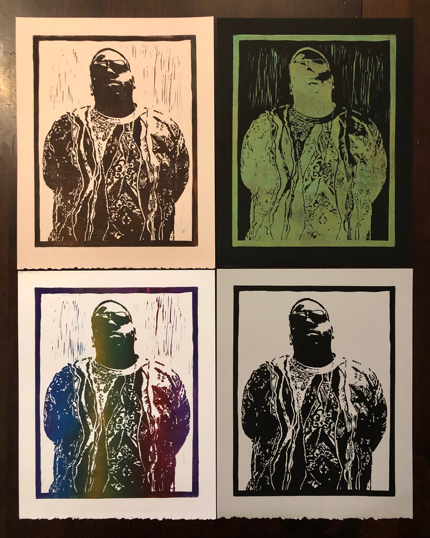 Image of Big Poppa prints